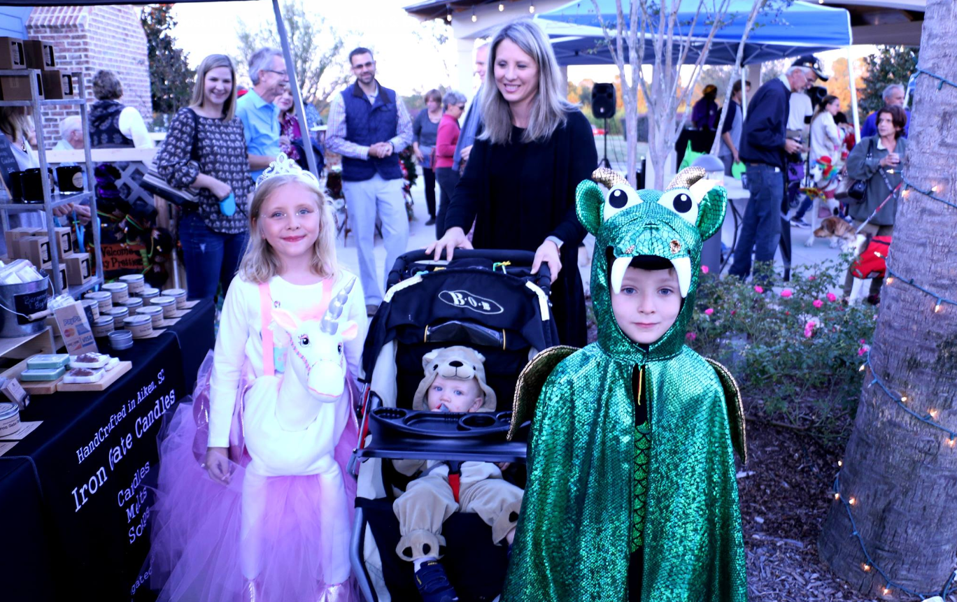Fourth Friday: Eat, Drink, Be Scary! @ The Village at Woodside