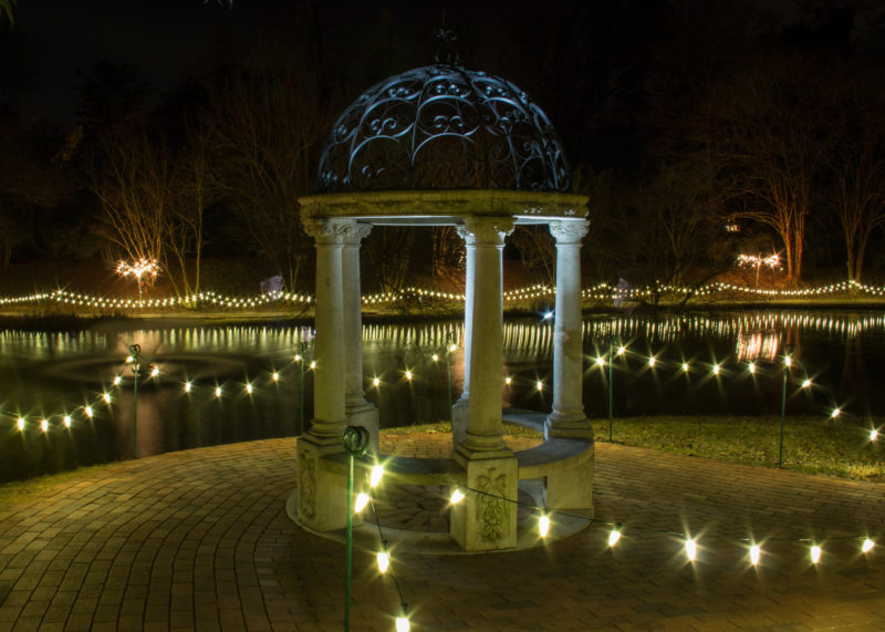 Christmas in Hopelands @ Hopeland Gardens | Aiken | South Carolina | United States