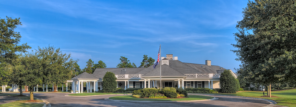 community clubhouse and golf