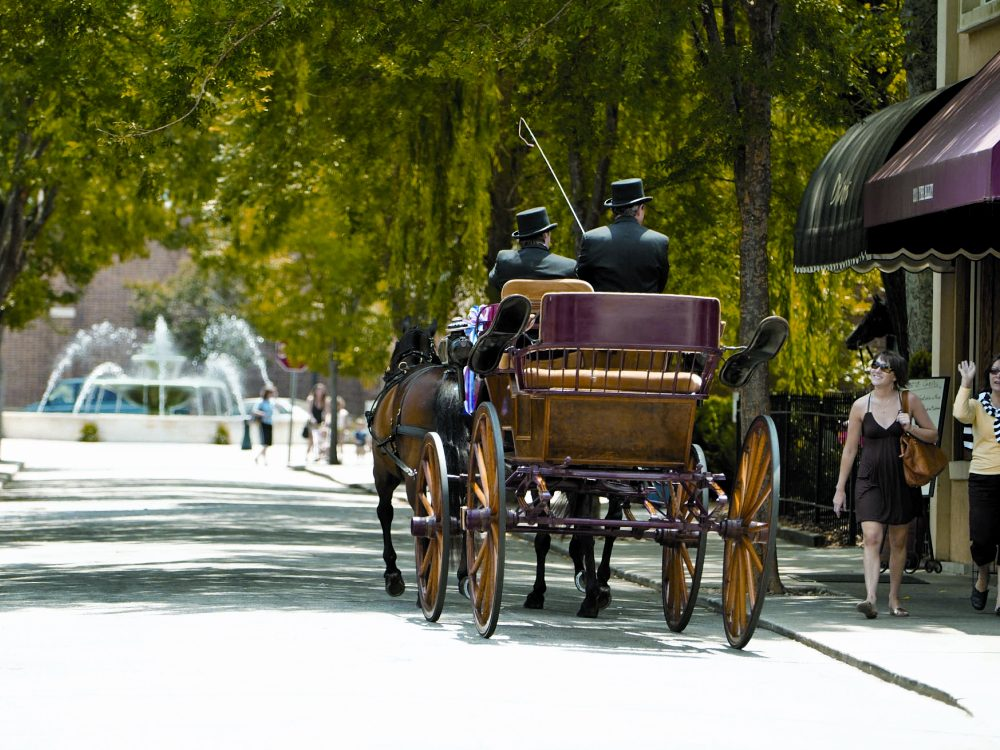 History 2 - Downtown Horse Carriage