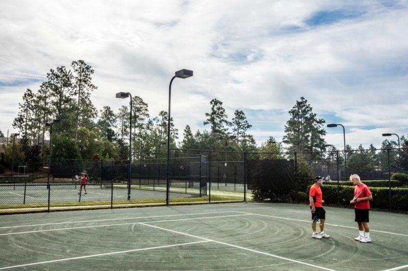 tennis at Woodside Communities