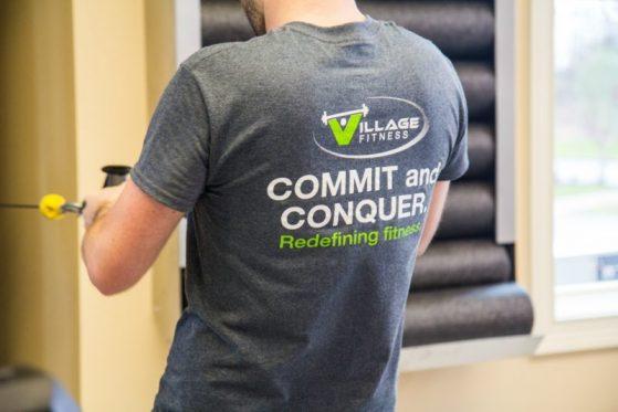 fitness facilities at Woodside Communities