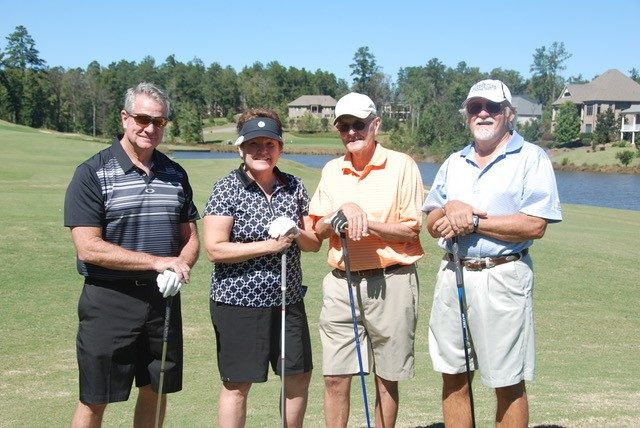 golfing at woodside communities